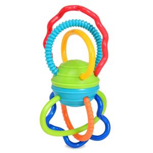 Игрушка развивающая Oball Разноцветная гантелька 81508
