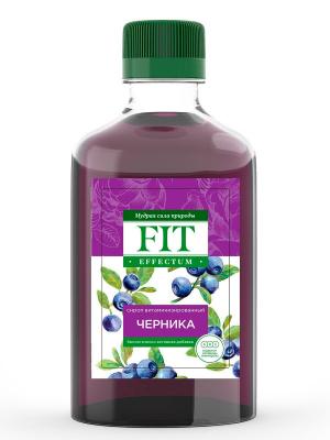 Сироп витаминизированный Черника 250 мл FitEffectum