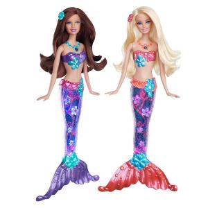 Кукла Barbie Barbie Русалка Сверкающие огоньки в ассортименте