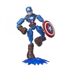 Фигурка Avengers Marvel Bend and Flex Captain America