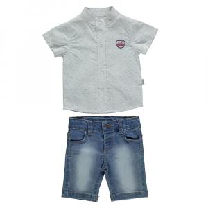2-ка с джинсовыми шортами (FRESH BOY)