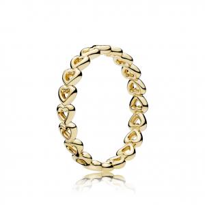 PANDORA Shine heart ring