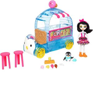 Набор Enchantimals фургончик мороженого Прины Пингвины