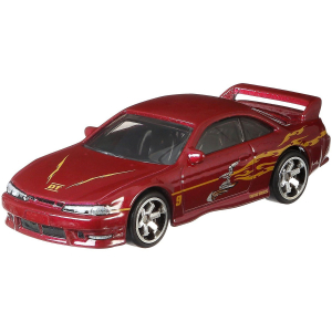 Машинка Hot Wheels Форсаж Ниссан 240SX GBW84