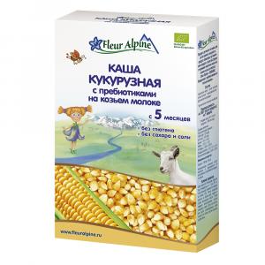 Каша Fleur Alpine кукурузная на козьем молоке 200 гр