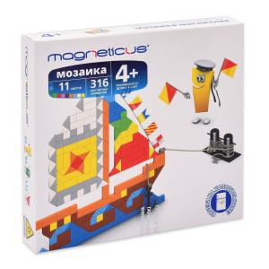 Мозаика-магнитная Magneticus Парусник 316 элементов