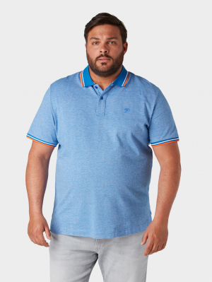 polo with w, brilliant middle blue, XXXL