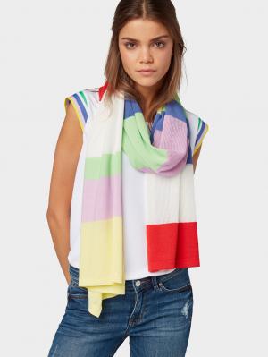 knit s, multicolor block stripe, OneSize