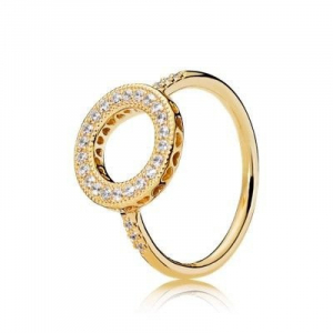 PANDORA Shine ring with clear cubic zirconia