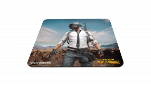 SteelSeries  QcK+ GAMING MOUSPAD PUBG EDITION 450x400x4 мм