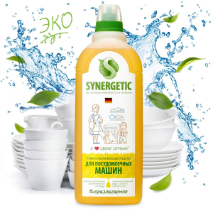 Synergetic средство для посудомоечных машин «Лимон», 1л.