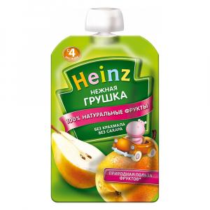 ПЮРЕ ХАЙНЦ НЕЖНАЯ ГРУШКА 100 Г