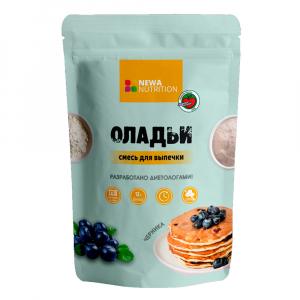 Смесь сухая NEWA NUTRITION  для выпечки оладий со вкусом черники 200гр