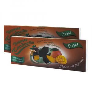 Конфеты Умные сладости желейные со вкусом манго-маракуйя в кондитерской глазури 105г