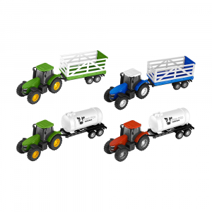 Машинка Teamsterz Tractor and Trailer
