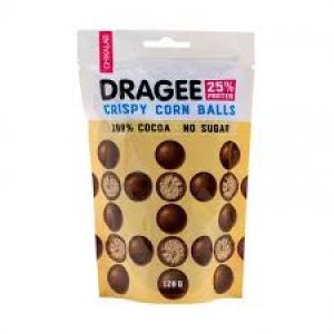 Chikalab Драже Кукурузные шарики  в шоколаде