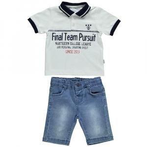 2-ка поло с джинсовыми шортами (HIGH PLAY)