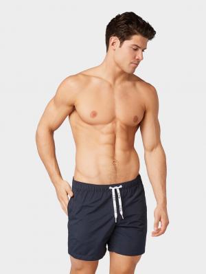 swim shorts piping, Black Iris Blue, S
