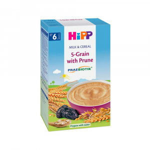 Молочная каша HiPP Milk Pap 5 злаков c черносливом 250 гр