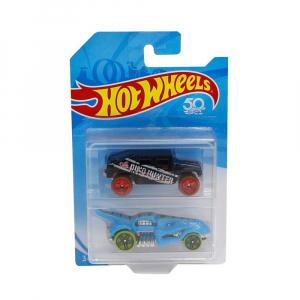 Машинка Hot Wheels Dino Hunter and Shark 2 шт