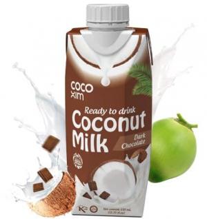 Кокосовое молоко питьевое с шоколадом