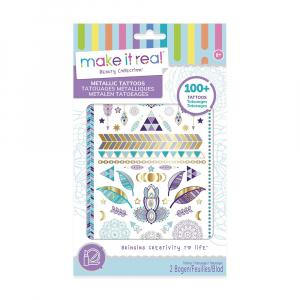 Набор Make it Real Metallic Tattoos purple