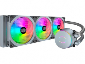 MASTERLIQUID ML360R RGB Silver Edition  Pump Speed 2000dBAxFanAMD,INTEL
