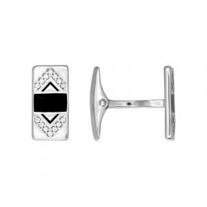 016 - Запонки серебро 925°
