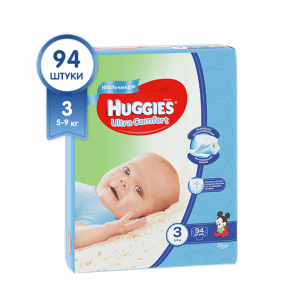 Haggis Ultra Comfort Giga 3  по 94  шт Boy
