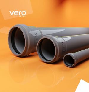 Труба канализ. 3,6 d 150/0,50 м Vero