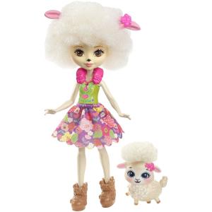 Кукла Enchantimals с любимой зверюшкой FCG65