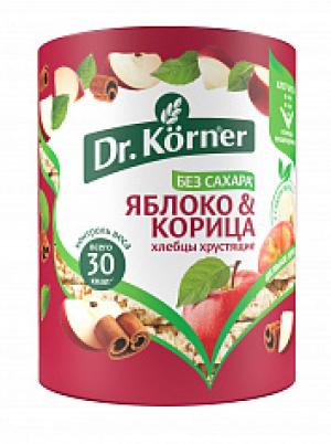 Хлебцы сладкие Korner Яблоко и Корица 90гр