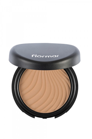 FLORMAR  COMPACT POWDER-092 Medium soft peach