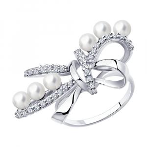 001 - Кольцо серебро 925°
