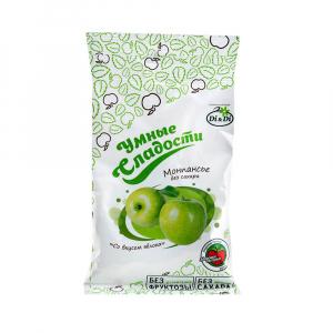 Леденцы без сахара  Умные Сладости  зеленое яблоко