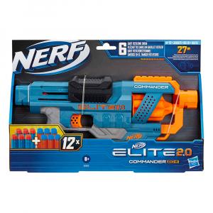 Бластер Nerf Elite 2.0 Сommander RD-6