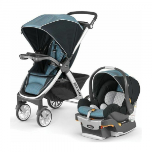 Коляска Chicco Bravo Travel System 3 в 1 Iceland