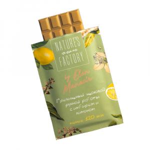 Гречишный шоколад  с имбирем и лимоном  20гр Nature s Own Factory