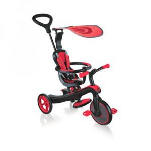 Велосипед трехколесный Globber Explorer Trike  4в1 красный