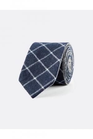 Tie in double face wool
