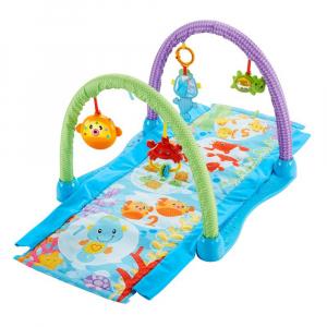 Игровой коврик Fisher - Price с набором игрушек Друзья из подводного мира