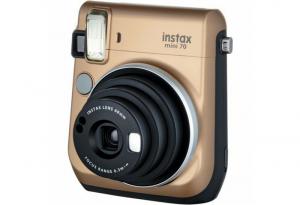 Фотоаппарат FUJIFILM instax mini 70 gold моментальная печать