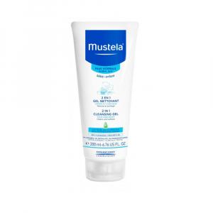 Очищающий гель Mustela для волос и тела 200 мл