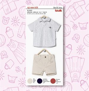 рубашка+шорты (2685)