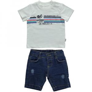 2-ка с футболкой и джинсовыми шортами (HOLIDAY MOOD)