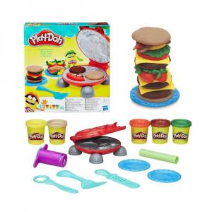 Набор для лепки Play-Doh Бургер гриль
