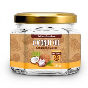 Кокосовое масло рафинированное для жарки Biolavka