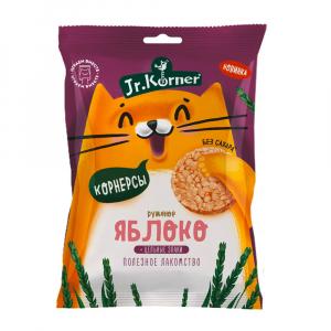 Хлебцы мини Korner Яблоко 30гр Без сахара, Без глютена