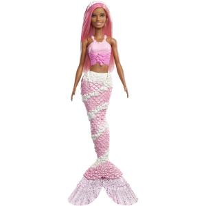 Кукла Barbie Dreamtopia Русалочка с розовыми волосами FXT10