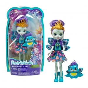 Кукла Enchantimals Patter peacock